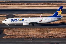 I.Kさんが、羽田空港で撮影したスカイマーク 737-86Nの航空フォト(飛行機 写真・画像)