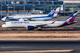 I.Kさんが、羽田空港で撮影したアエロフロート・ロシア航空 A350-941の航空フォト(飛行機 写真・画像)