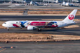 I.Kさんが、羽田空港で撮影した日本航空 767-346/ERの航空フォト(飛行機 写真・画像)