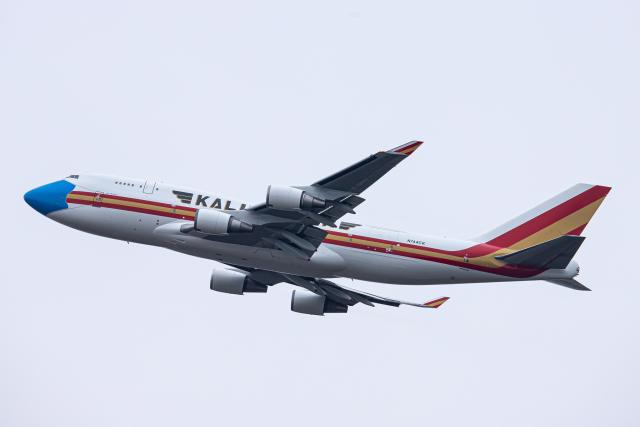 SGR RT 改さんが、成田国際空港で撮影したカリッタ エア 747-446(BCF)の航空フォト(飛行機 写真・画像)