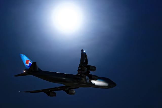 SGR RT 改さんが、成田国際空港で撮影した大韓航空 747-8B5F/SCDの航空フォト(飛行機 写真・画像)