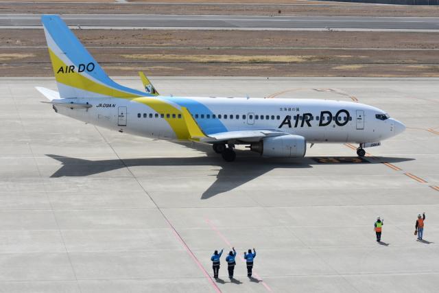 空が大好き!さんが、神戸空港で撮影したAIR DO 737-781の航空フォト(飛行機 写真・画像)