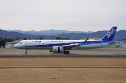 pringlesさんが、熊本空港で撮影した全日空 A321-272Nの航空フォト(飛行機 写真・画像)