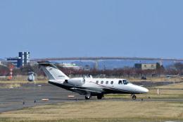 Gambardierさんが、岡南飛行場で撮影した日本法人所有 525 Citation CJ1の航空フォト(飛行機 写真・画像)