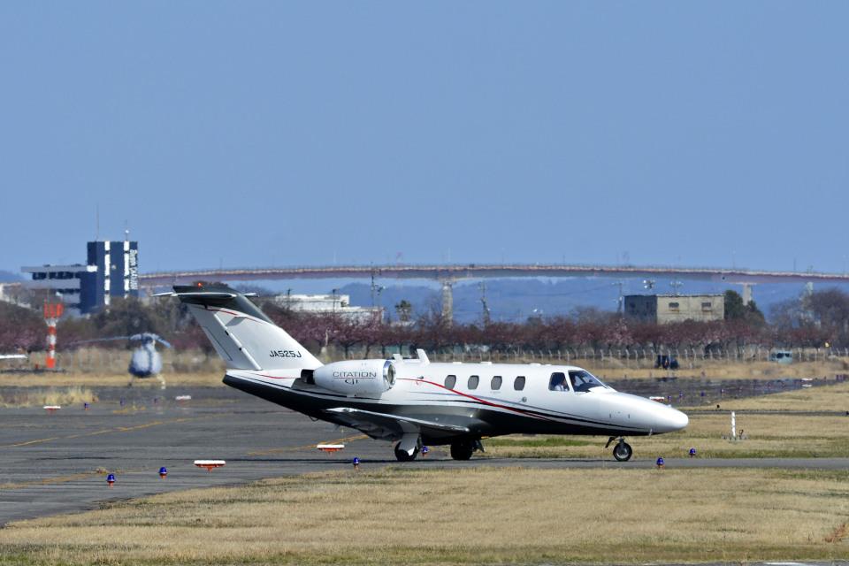 Gambardierさんの日本法人所有 Cessna 525 CitationJet (JA525J) 航空フォト