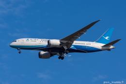 ぱん_くまさんが、成田国際空港で撮影した厦門航空 787-8 Dreamlinerの航空フォト(飛行機 写真・画像)