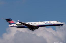 ぱん_くまさんが、成田国際空港で撮影したアイベックスエアラインズ CL-600-2C10 Regional Jet CRJ-702の航空フォト(飛行機 写真・画像)