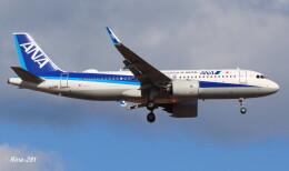 RINA-281さんが、小松空港で撮影した全日空 A320-271Nの航空フォト(飛行機 写真・画像)