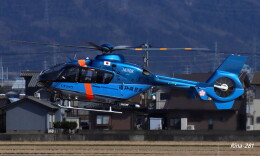 RINA-281さんが、福井空港で撮影した福井県警察 EC135T2+の航空フォト(飛行機 写真・画像)