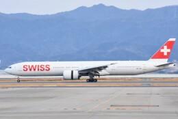 M.Tさんが、関西国際空港で撮影したスイスインターナショナルエアラインズ 777-3DE/ERの航空フォト(飛行機 写真・画像)
