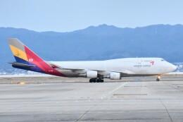M.Tさんが、関西国際空港で撮影したアシアナ航空 747-446(BDSF)の航空フォト(飛行機 写真・画像)