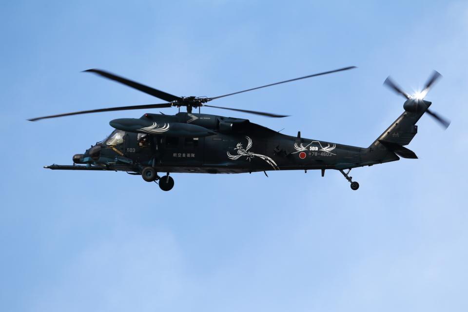 nori-beatさんの航空自衛隊 Mitsubishi UH-60J (78-4603) 航空フォト