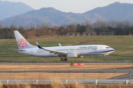 TAK_HND_NRTさんが、高松空港で撮影したチャイナエアライン 737-8FHの航空フォト(飛行機 写真・画像)