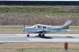 ヨッシさんが、岡南飛行場で撮影した日本個人所有 PA-28-161 Warrior IIの航空フォト(飛行機 写真・画像)