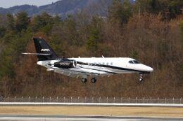 しょうせいさんが、岡山空港で撮影した不明 Citation Latitude(680A)の航空フォト(飛行機 写真・画像)