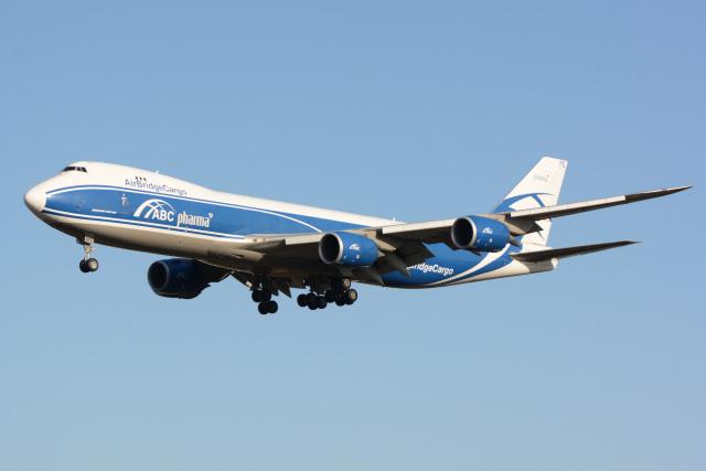 banshee02さんが、成田国際空港で撮影したエアブリッジ・カーゴ・エアラインズ 747-83QFの航空フォト(飛行機 写真・画像)