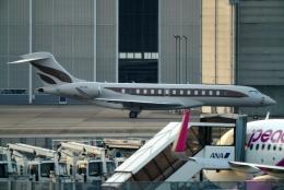 SFJ_capさんが、成田国際空港で撮影したウィルミントン・トラスト・カンパニー BD-700-2A12 Global 7500の航空フォト(飛行機 写真・画像)