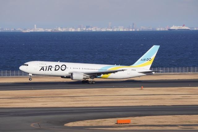 けーぶんさんが、羽田空港で撮影したAIR DO 767-381/ERの航空フォト(飛行機 写真・画像)