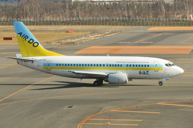 デデゴンさんが、新千歳空港で撮影したAIR DO 737-54Kの航空フォト(飛行機 写真・画像)