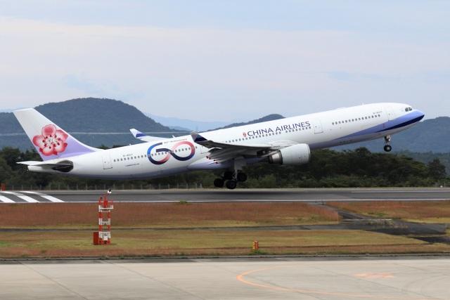 kan787allさんが、広島空港で撮影したチャイナエアライン A330-302の航空フォト(飛行機 写真・画像)
