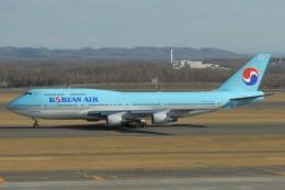 デデゴンさんが、新千歳空港で撮影した大韓航空 747-4B5の航空フォト(飛行機 写真・画像)