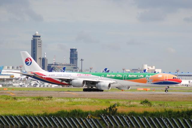LEGACY-747さんが、成田国際空港で撮影した中国東方航空 A340-642の航空フォト(飛行機 写真・画像)