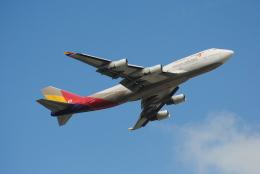 航空フォト:HL7428 アシアナ航空 747-400