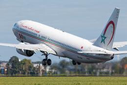 Airliners Freakさんが、アムステルダム・スキポール国際空港で撮影したロイヤル・エア・モロッコ 737-8B6の航空フォト(飛行機 写真・画像)