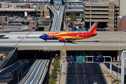 Airliners Freakさんが、フェニックス・スカイハーバー国際空港で撮影したサウスウェスト航空 737-3H4の航空フォト(飛行機 写真・画像)