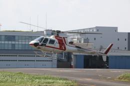 ショウさんが、東京ヘリポートで撮影した朝日航洋 AS350B3 Ecureuilの航空フォト(飛行機 写真・画像)