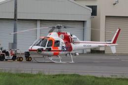 ショウさんが、新潟空港で撮影した朝日航洋 AS355F1 Ecureuil 2の航空フォト(飛行機 写真・画像)