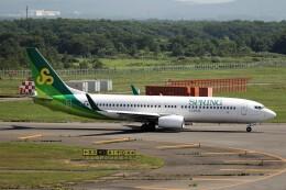 もぐ3さんが、新千歳空港で撮影した春秋航空日本 737-8ALの航空フォト(飛行機 写真・画像)
