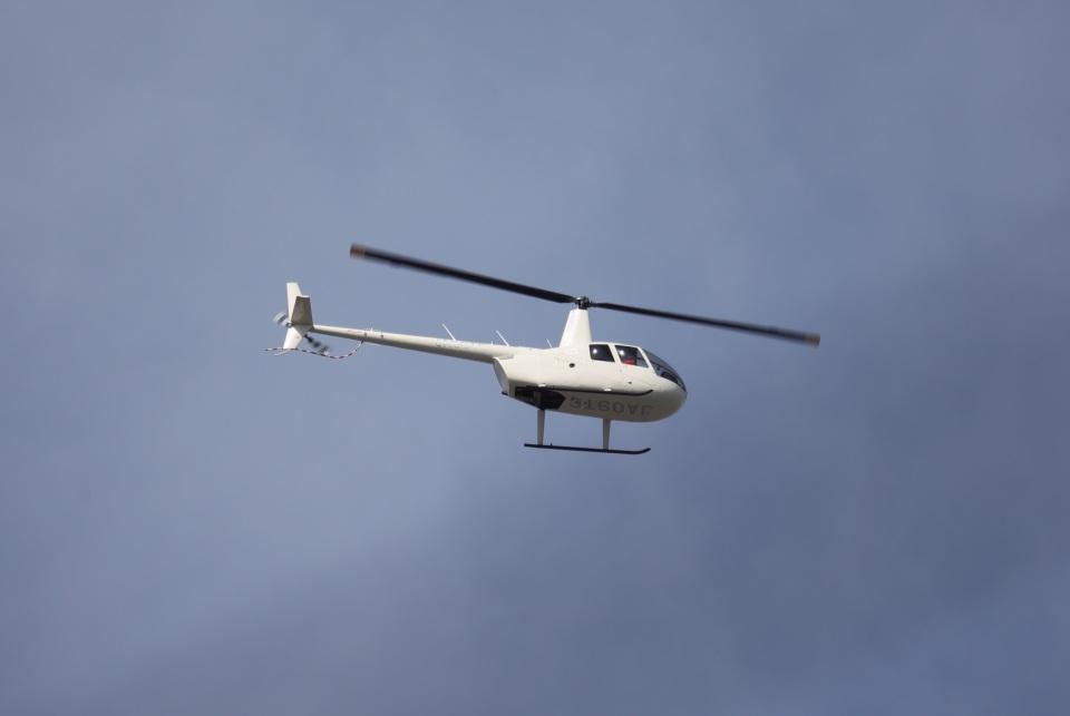 Wasawasa-isaoさんの大阪航空 Robinson R44 (JA09TC) 航空フォト