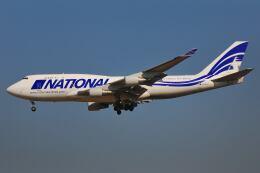 シグナス021さんが、成田国際空港で撮影したナショナル・エアラインズ 747-412(BCF)の航空フォト(飛行機 写真・画像)