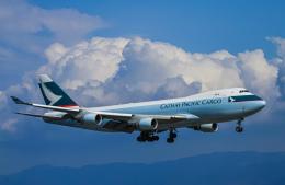 rokko2000さんが、関西国際空港で撮影したキャセイパシフィック航空 747-467F/ER/SCDの航空フォト(飛行機 写真・画像)