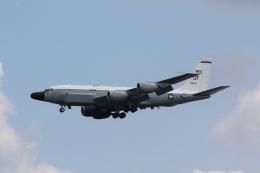 ショウさんが、横田基地で撮影したアメリカ空軍 RC-135S (717-148)の航空フォト(飛行機 写真・画像)