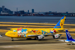rokko2000さんが、羽田空港で撮影した全日空 747-481(D)の航空フォト(飛行機 写真・画像)