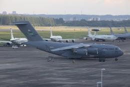 ショウさんが、横田基地で撮影したアメリカ空軍 C-17A Globemaster IIIの航空フォト(飛行機 写真・画像)