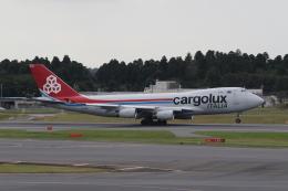 ショウさんが、成田国際空港で撮影したカーゴルクス・イタリア 747-4R7F/SCDの航空フォト(飛行機 写真・画像)