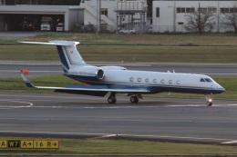 ショウさんが、成田国際空港で撮影したユタ銀行 G-V-SP Gulfstream G550の航空フォト(飛行機 写真・画像)