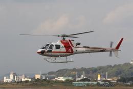 ショウさんが、名古屋飛行場で撮影した朝日航洋 AS350B3 Ecureuilの航空フォト(飛行機 写真・画像)