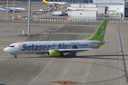 ショウさんが、中部国際空港で撮影したソラシド エア 737-86Nの航空フォト(飛行機 写真・画像)