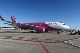 職業旅人さんが、成田国際空港で撮影したピーチ A320-214の航空フォト(飛行機 写真・画像)