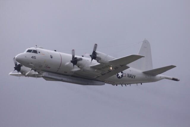 Mr.boneさんが、嘉手納飛行場で撮影したアメリカ海軍 P-3C BMUPの航空フォト(飛行機 写真・画像)