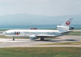プルシアンブルーさんが、関西国際空港で撮影した日本航空 DC-10-40Iの航空フォト(飛行機 写真・画像)