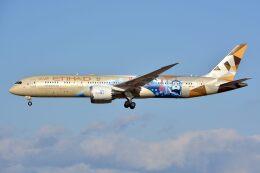 サンドバンクさんが、成田国際空港で撮影したエティハド航空 787-9の航空フォト(飛行機 写真・画像)