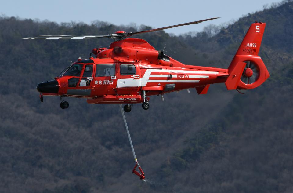 チャーリーマイクさんの東京消防庁航空隊 Eurocopter AS365/565 Dauphin 2/Panther (JA119G) 航空フォト