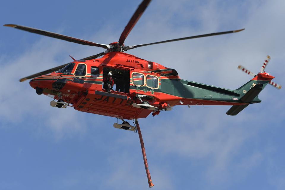 チャーリーマイクさんの富山県消防防災航空隊 Leonardo AW139 (JA119W) 航空フォト