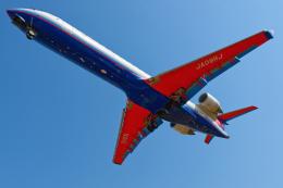 監督さんが、伊丹空港で撮影したアイベックスエアラインズ CL-600-2C10 Regional Jet CRJ-702の航空フォト(飛行機 写真・画像)