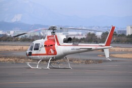 kumagorouさんが、仙台空港で撮影した朝日航洋 AS350B3 Ecureuilの航空フォト(飛行機 写真・画像)